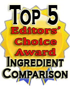 ingredient comparison top 5 Product/Cost Compare